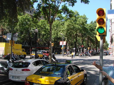 Avenue Diagonal barcelone